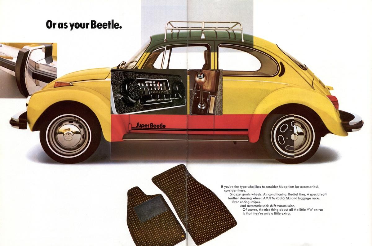 Volkswagen 1974 Beetle Sales Brochure