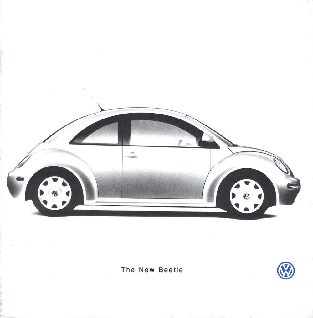 volkswagen 1998 beetle sales brochure. Black Bedroom Furniture Sets. Home Design Ideas