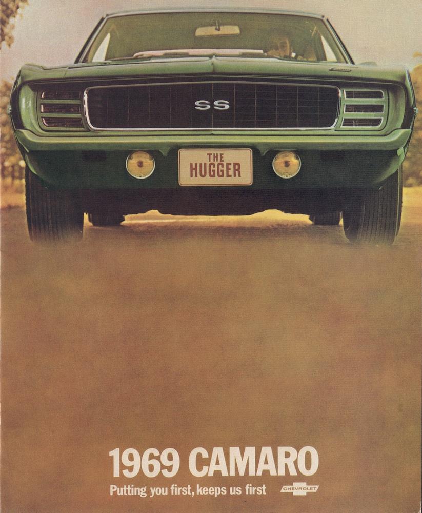 GM 1969 Chevrolet Camaro Sales Brochure – Sales Brochure