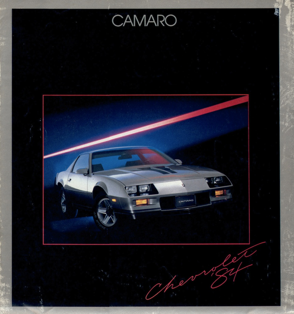 GM 1984 Chevrolet Camaro Sales Brochure
