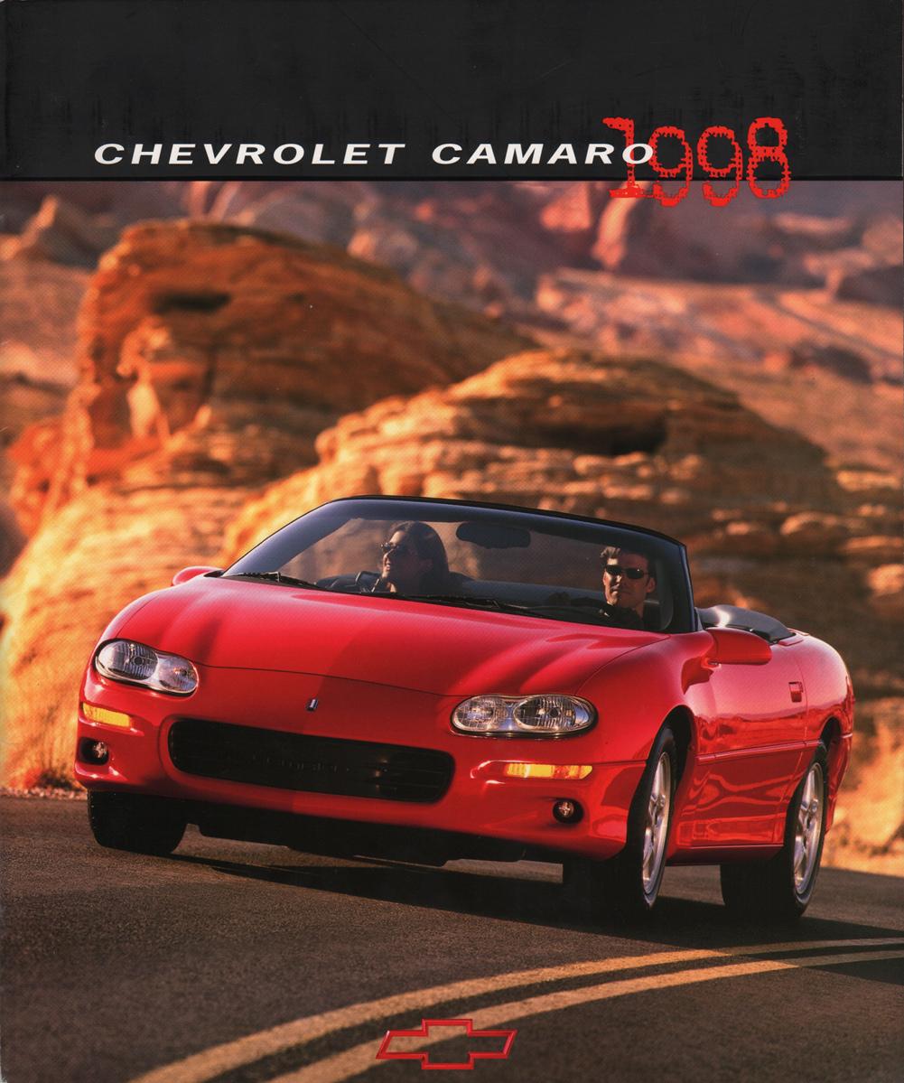 GM 1998 Chevrolet Camaro Sales Brochure