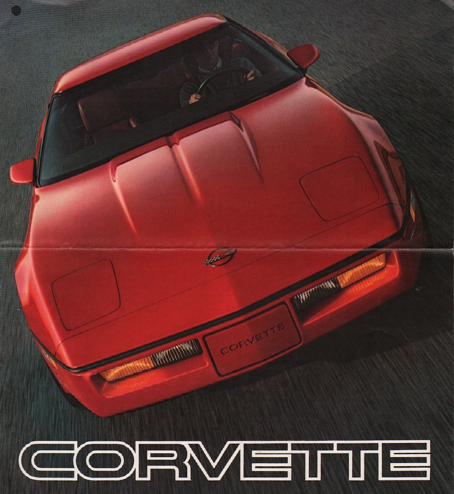 GM 1985 Chevrolet Corvette Sales Brochure