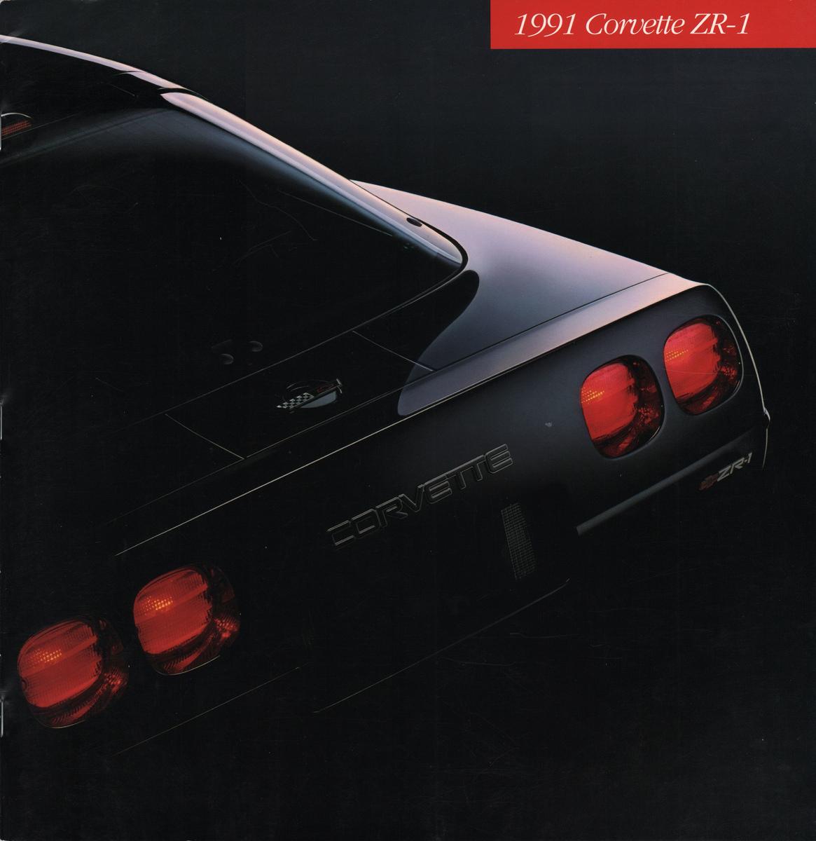GM 1991 Chevrolet Corvette Sales Brochure