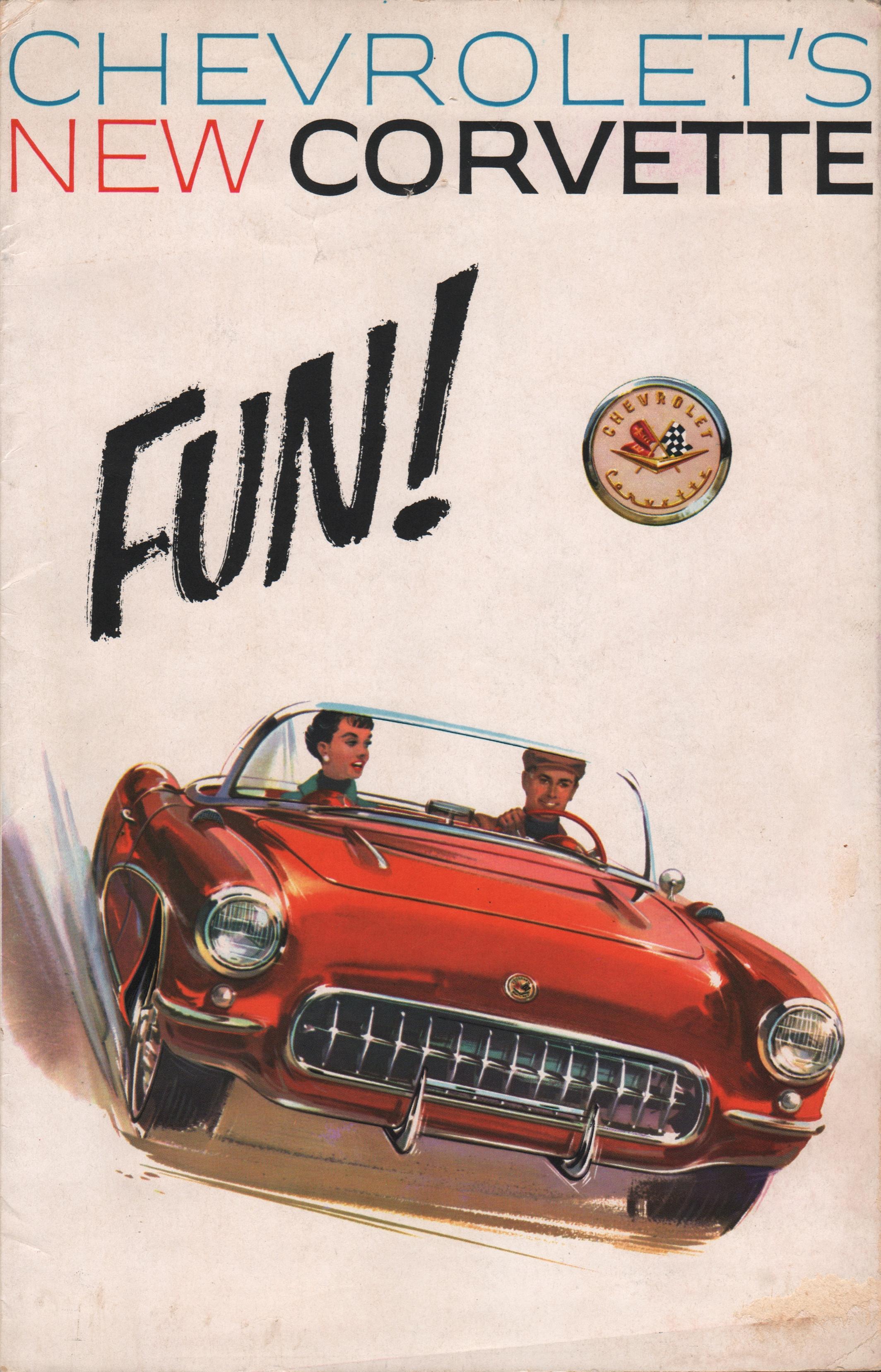 GM 1957 Chevrolet Corvette Sales Brochure