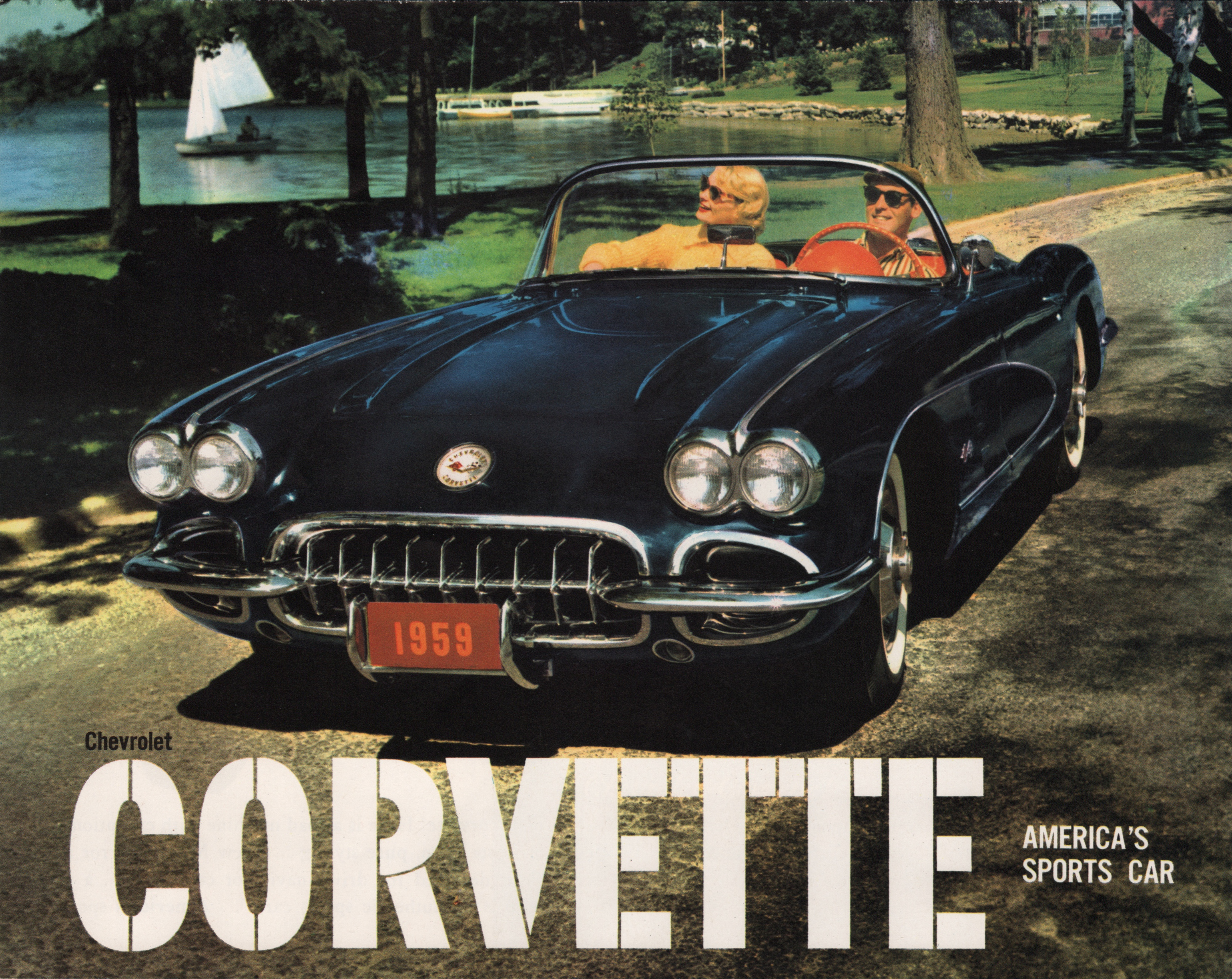 2010 Cobalt Ss >> GM 1959 Chevrolet Corvette Sales Brochure