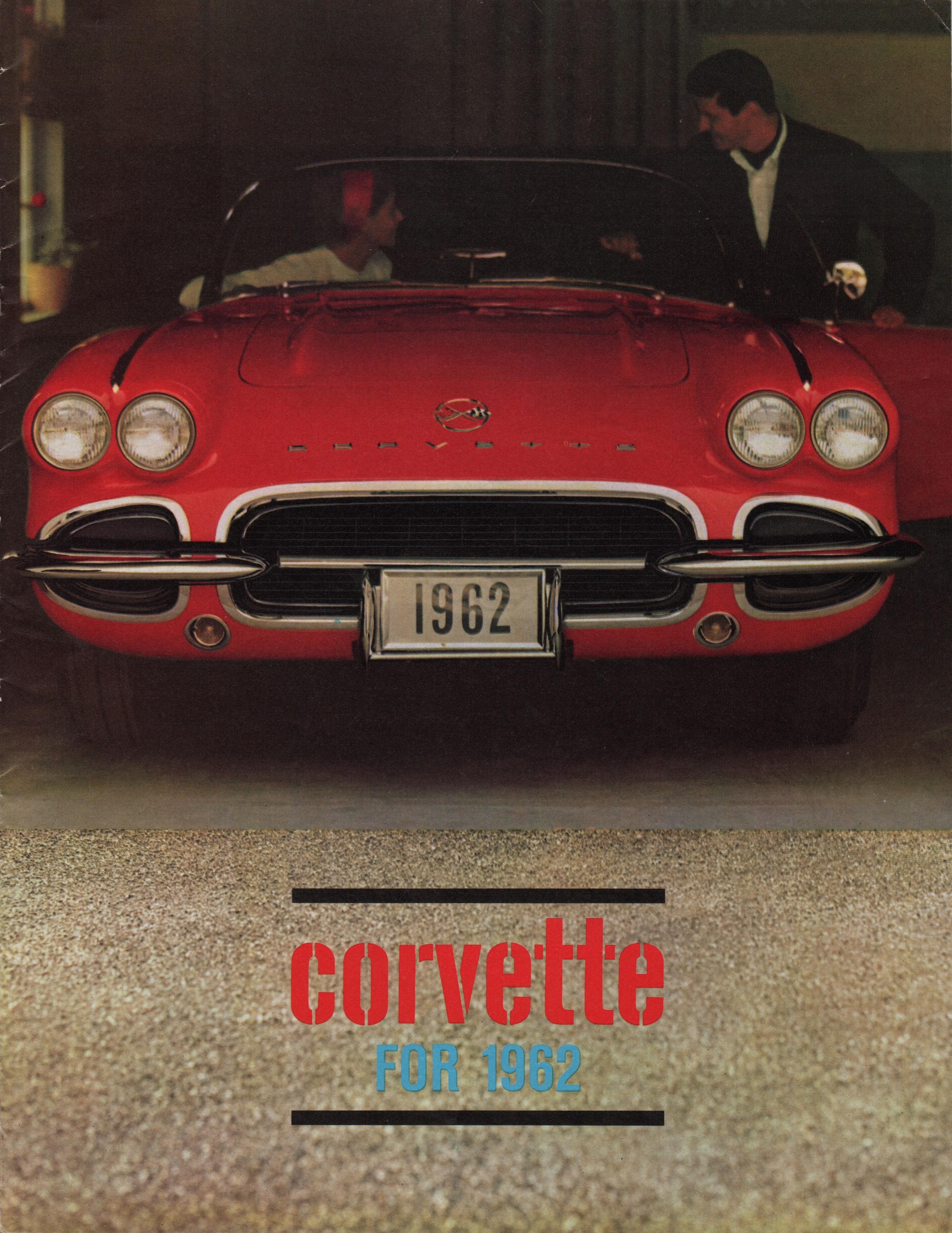 Gm 1962 Chevrolet Corvette Sales Brochure