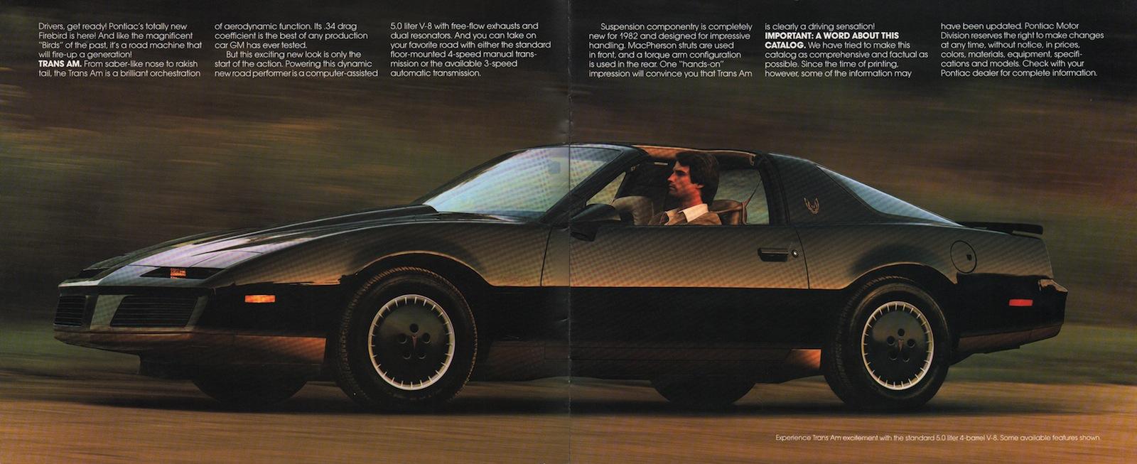 gm 1982 pontiac firebird sales brochure. Black Bedroom Furniture Sets. Home Design Ideas
