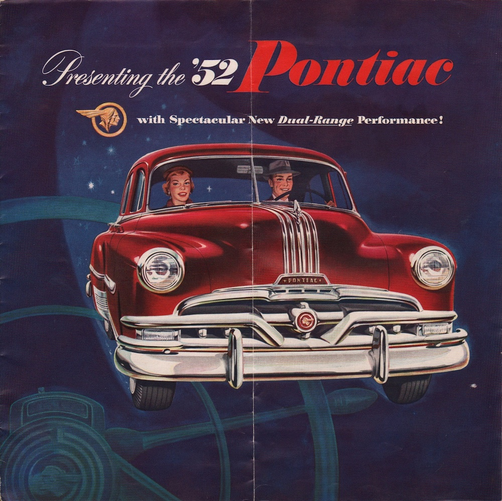 GM 1952 Pontiac Sales Brochure