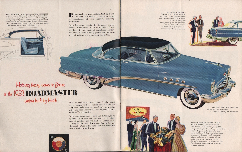 Gm 1953 Buick Sales Brochure