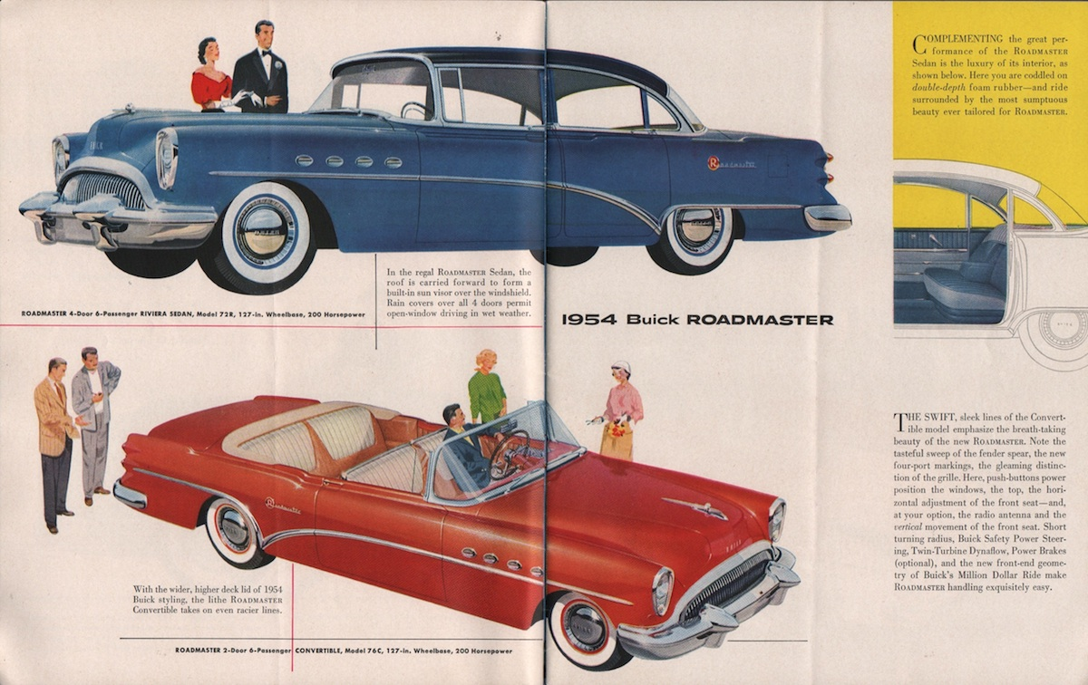 GM 1954 Buick Sales Brochure
