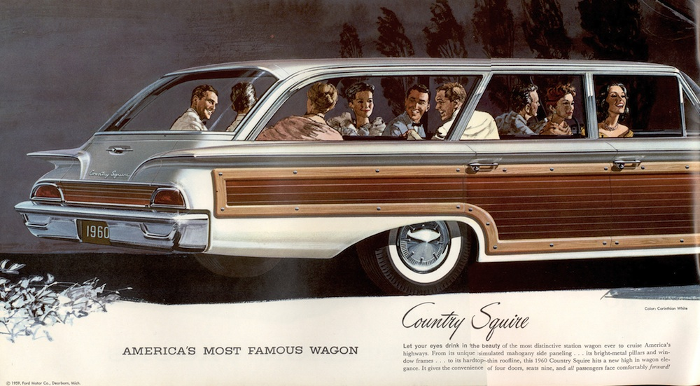 Ford 1960 Station Wagon Sales Brochure