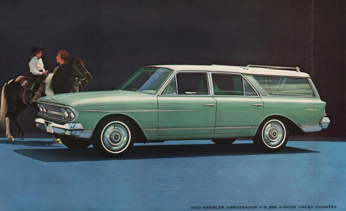 1963 rambler american station wagon