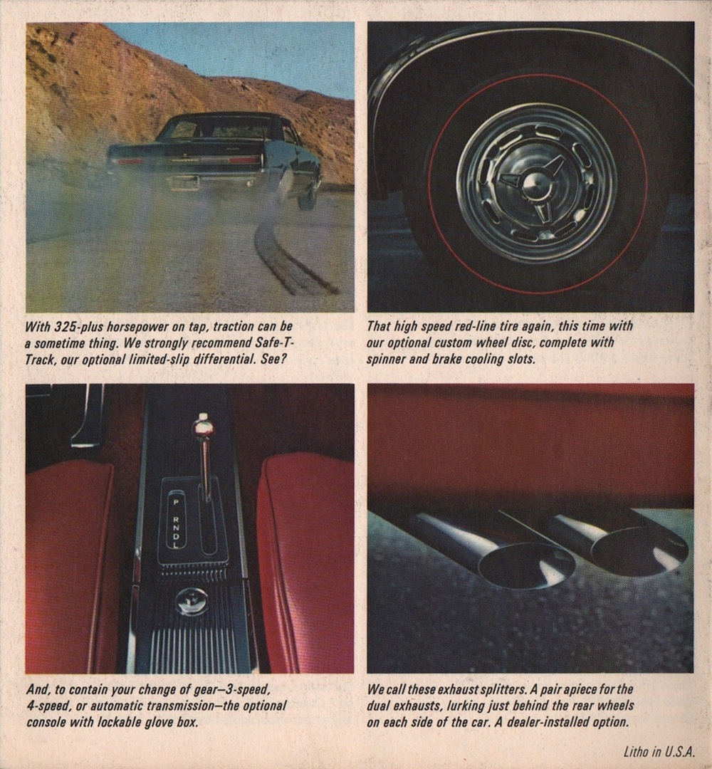 GM 1964 GTO Pontiac Sales Brochure
