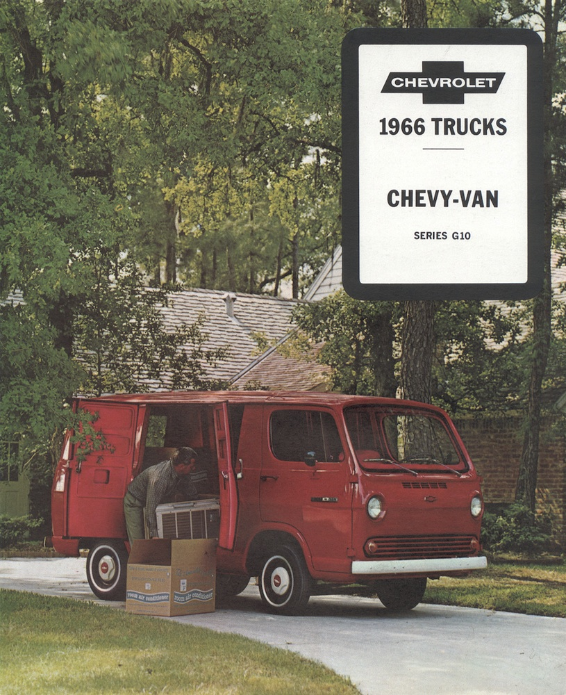 GM 1966 Chevy Van Chevy Truck Sales Brochure