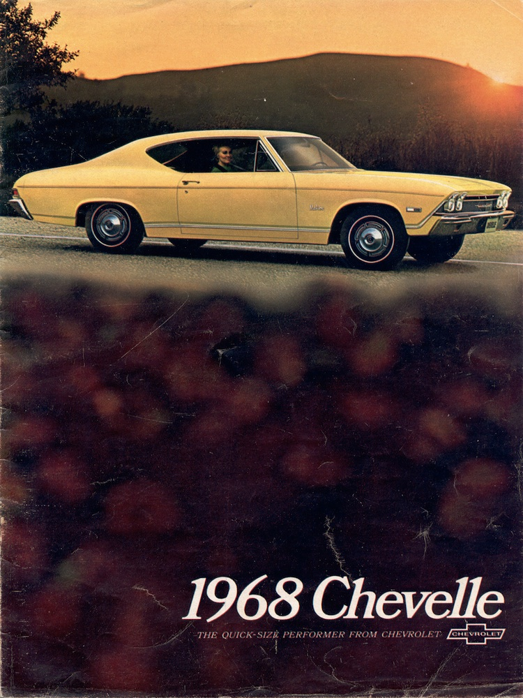 GM 1968 Chevrolet Chevelle Sales Brochure