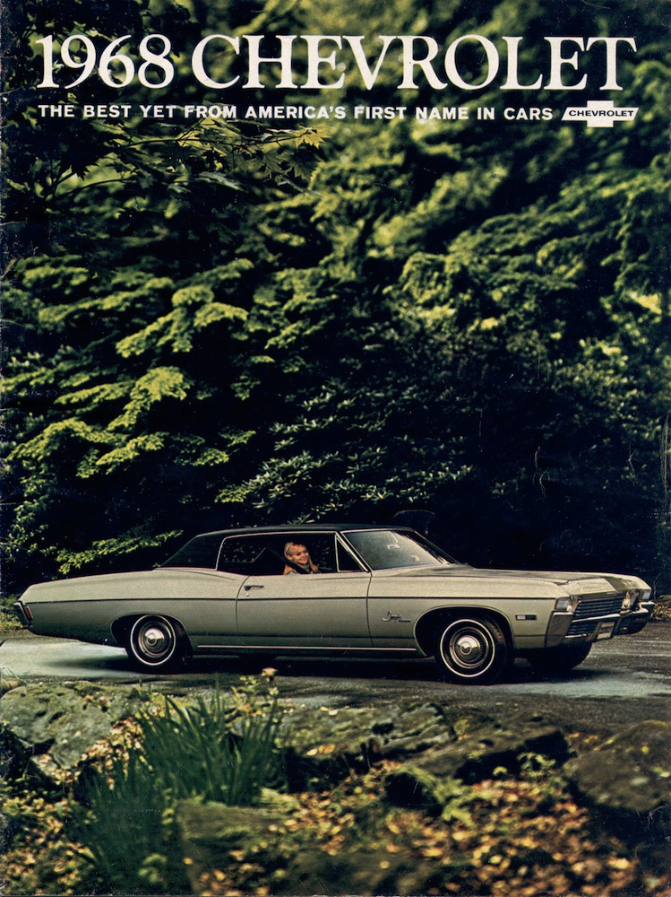 Gm 1968 Chevrolet Sales Brochure