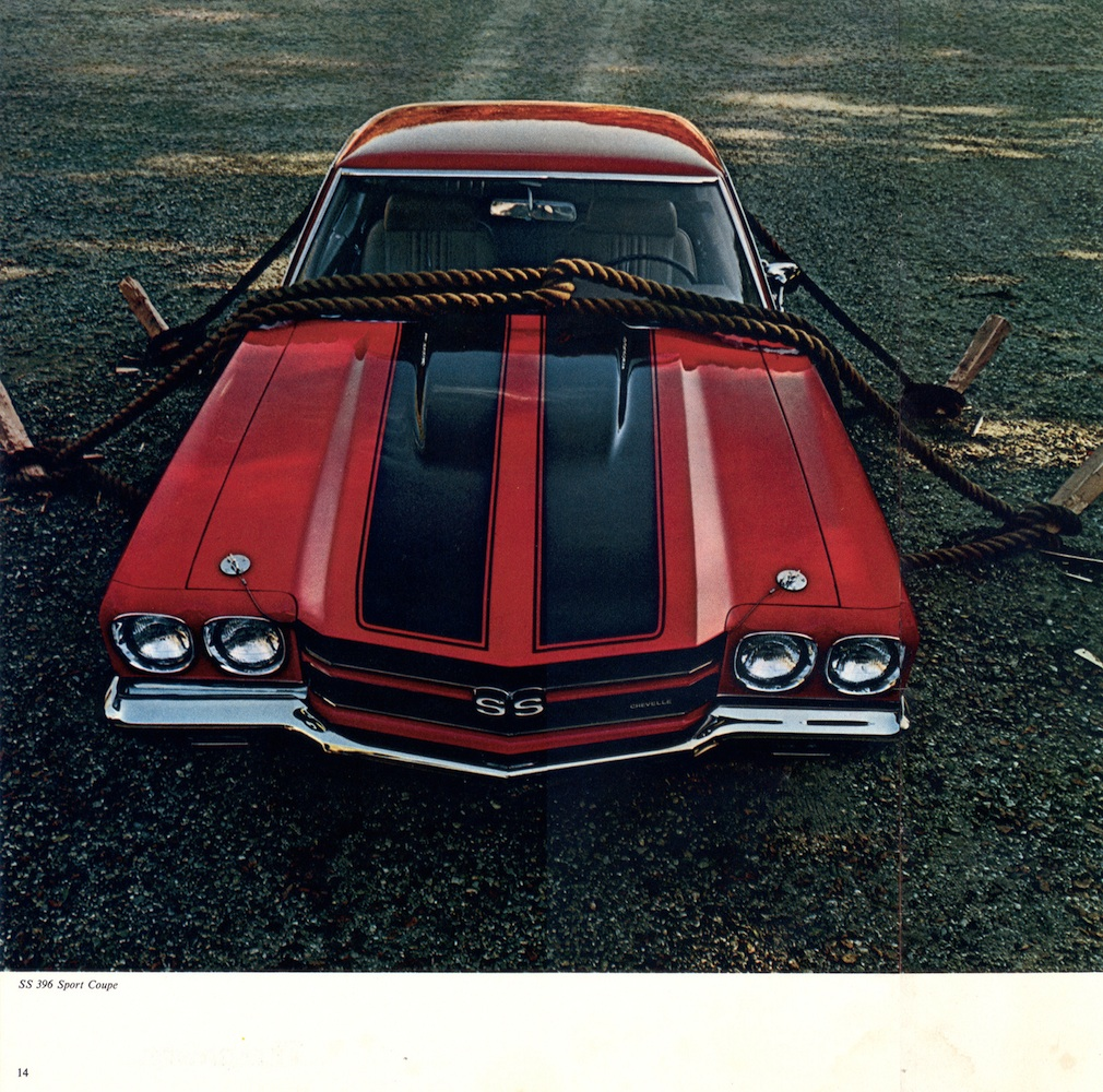 GM 1970 Chevrolet Chevelle Sales Brochure