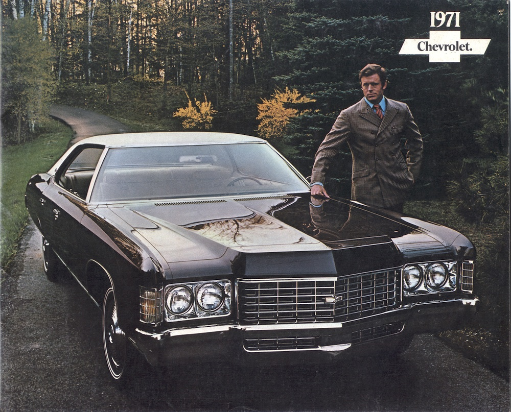 Gm 1971 Chevrolet Sales Brochure