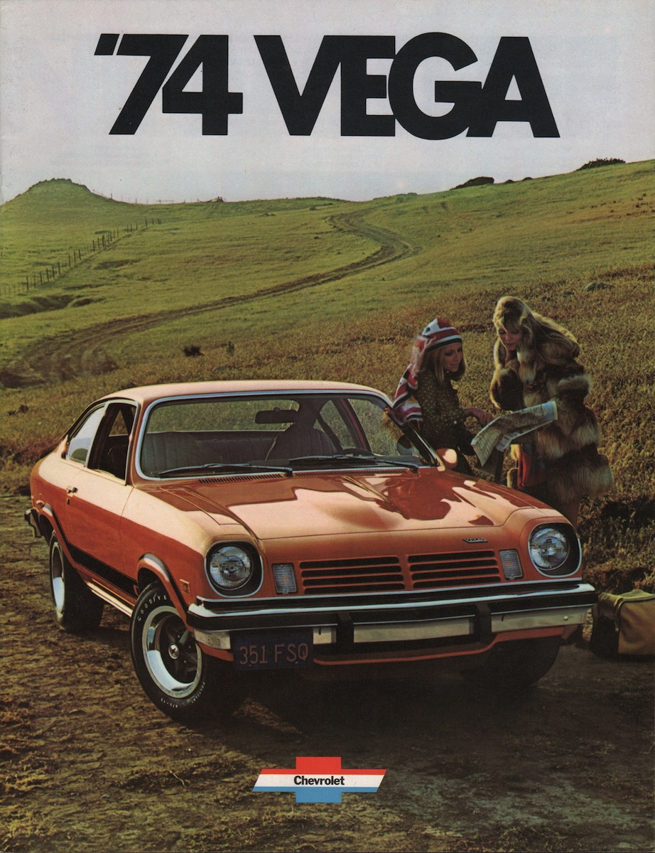 Gm 1974 Chevrolet Vega Sales Brochure
