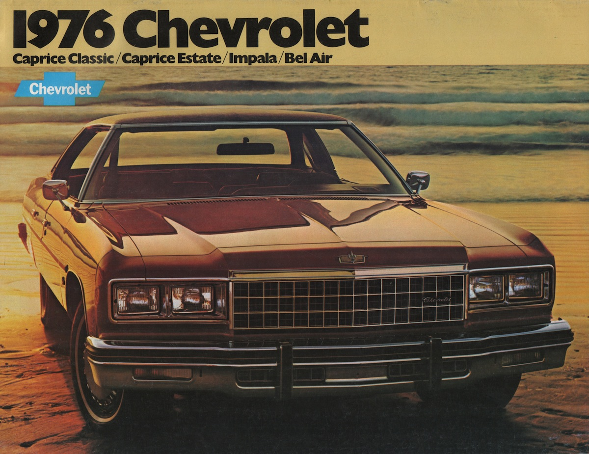 Gm 1976 Chevrolet Sales Brochure