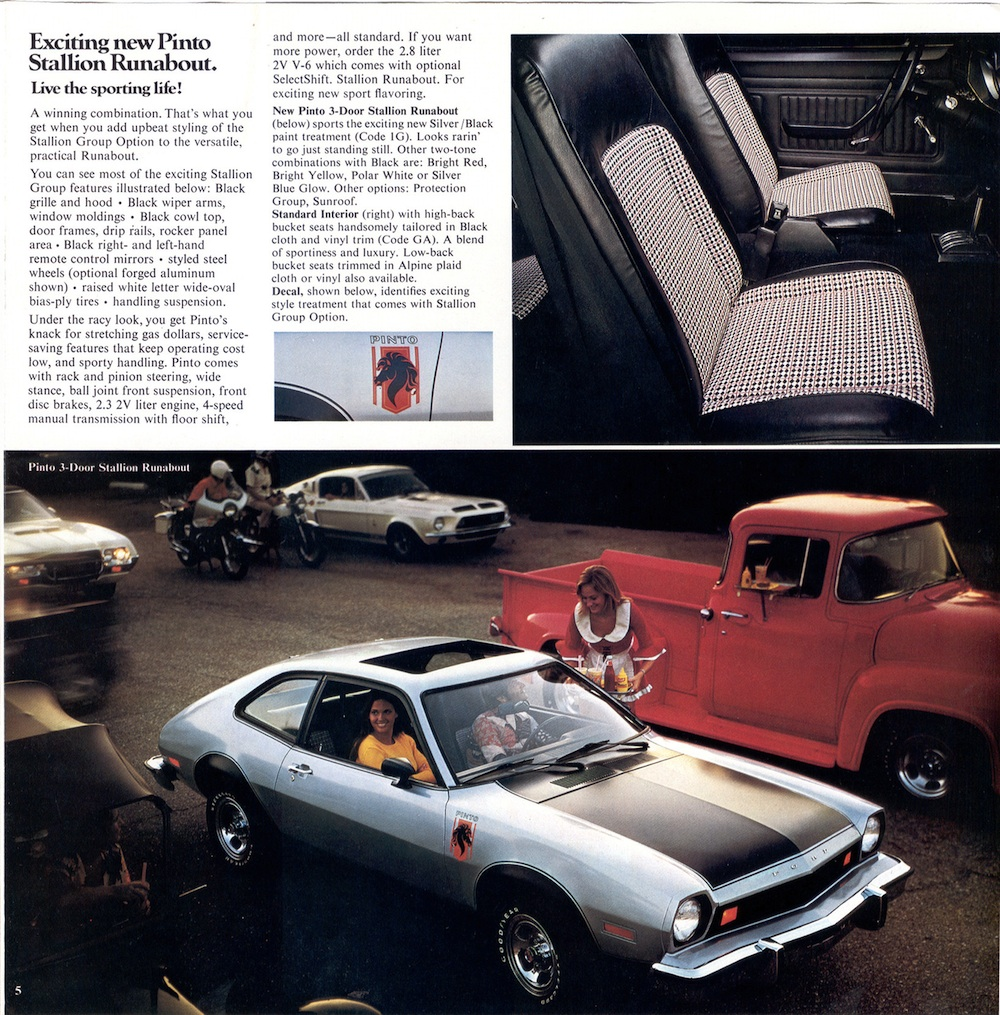 Ford 1976 Pinto Sales Brochure