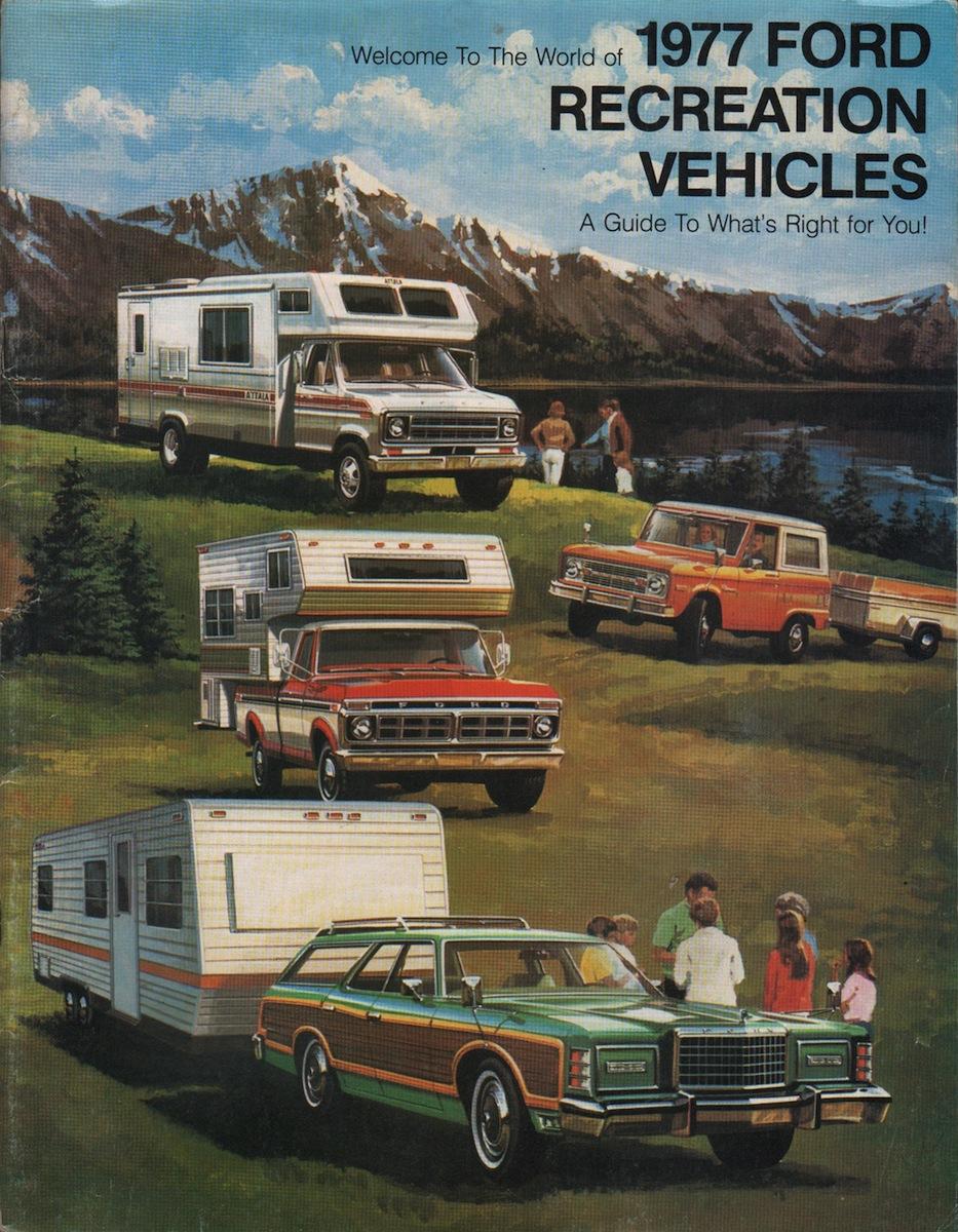 1977 ford recreational vehicles retro vintage pinterest recreational vehicles and rv