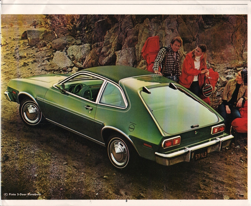 Ford 1977 Pinto Sales Brochure