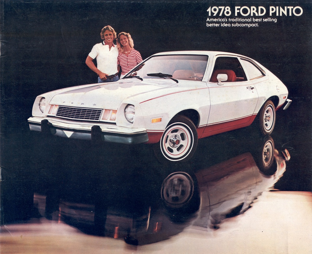 Ford 1978 Pinto Sales Brochure