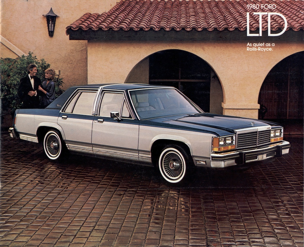 Ford 1980 LTD Sales Brochure