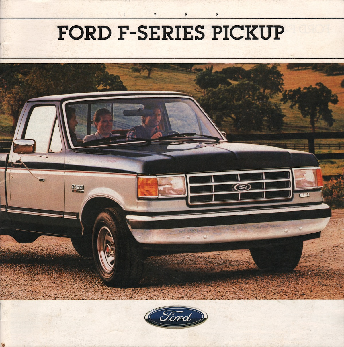 1988 recreation vehicles ford truck sales brochure