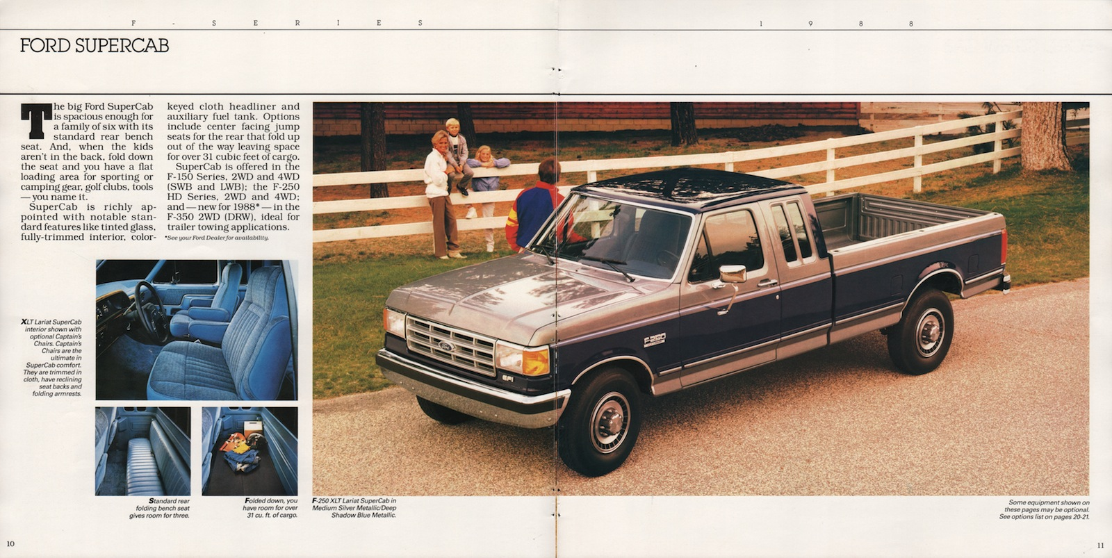 Awesome 1988 Recreation Vehicles Ford Truck Sales Brochure Gmtry Best Dining Table And Chair Ideas Images Gmtryco