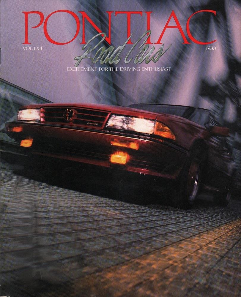 Gm 1988 Pontiac Sales Brochure