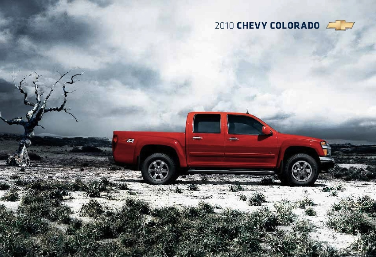 GM 2010 Chevrolet Colorado Sales Brochure