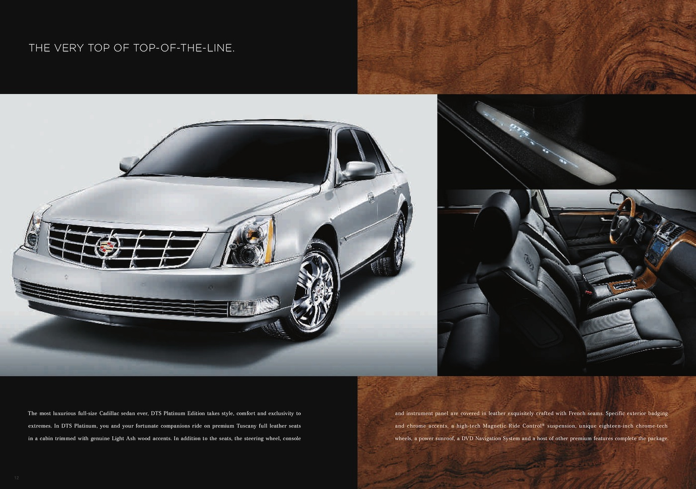 GM 2010 DTS Cadillac Sales Brochure