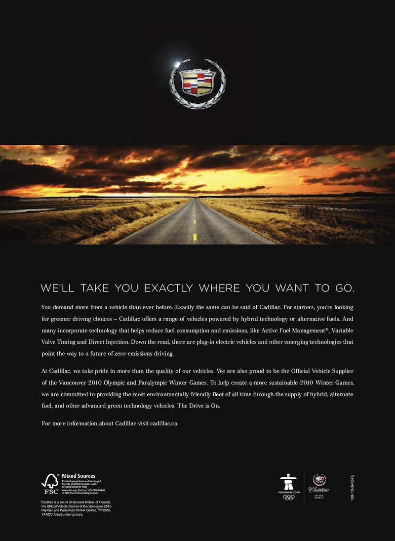 Gm 2010 Dts Cadillac Sales Brochure
