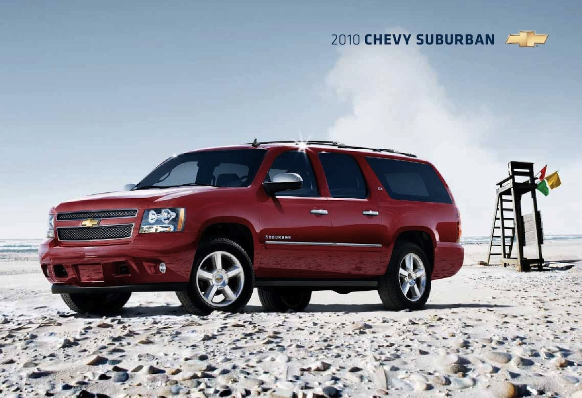 GM 2010 Chevrolet Suburban Sales Brochure