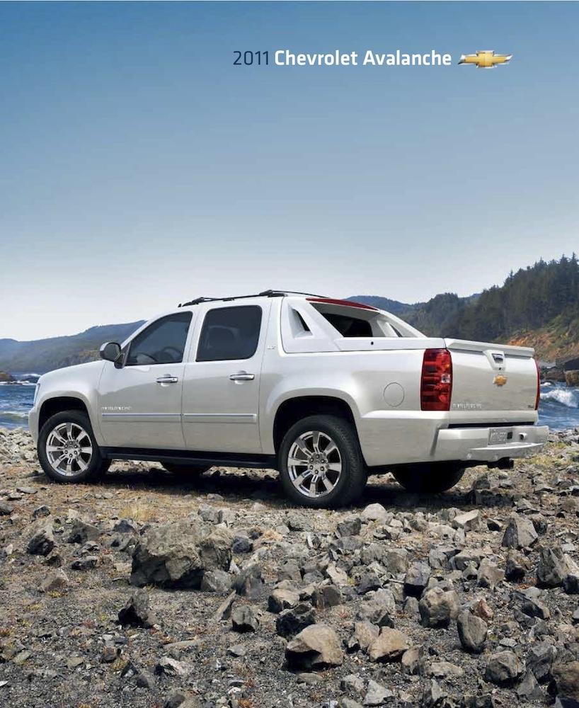 GM 2011 Chevrolet Avalanche Sales Brochure