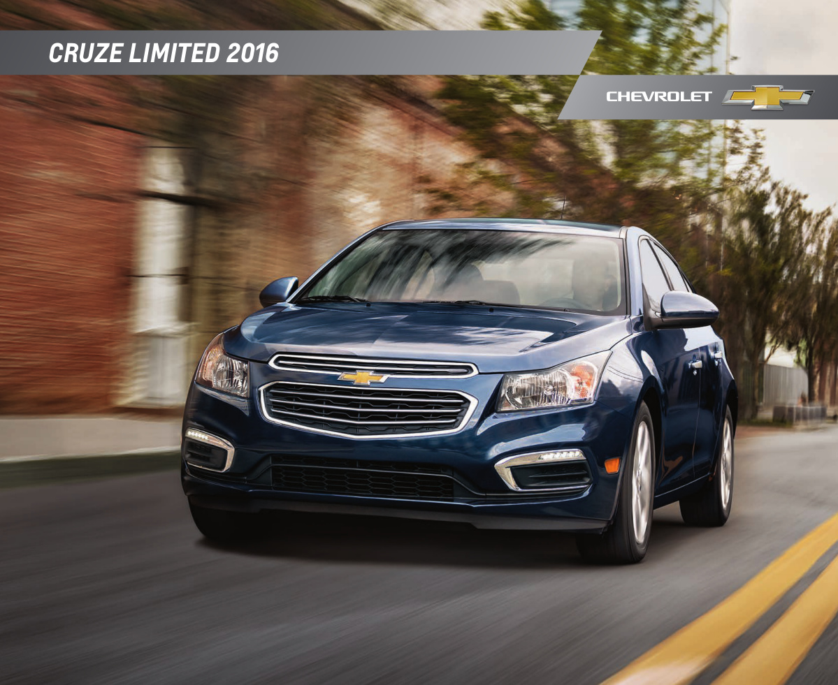 GM 2016 Chevrolet Cruze Sales Brochure