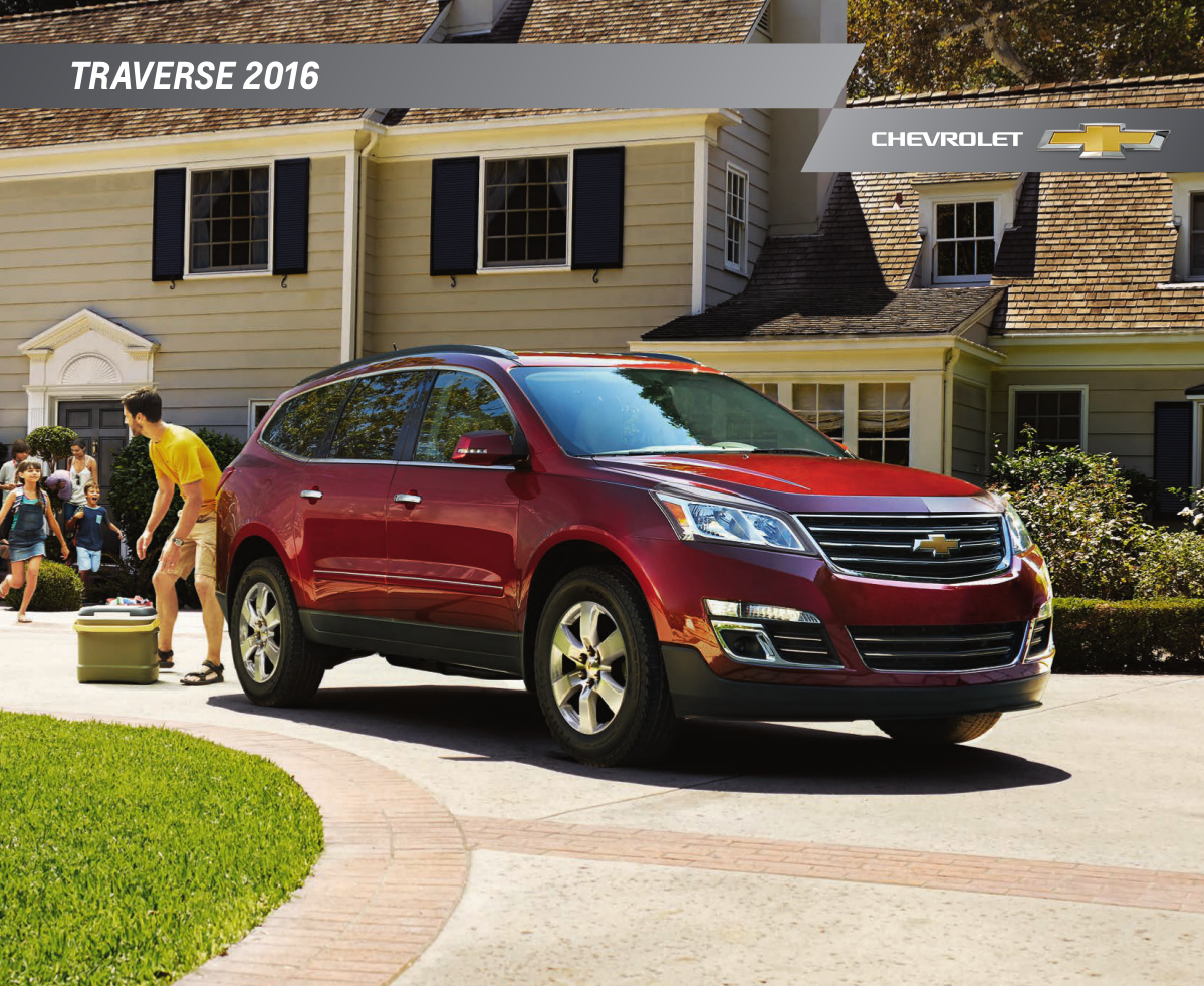 Gm 2016 Chevrolet Traverse Sales Brochure