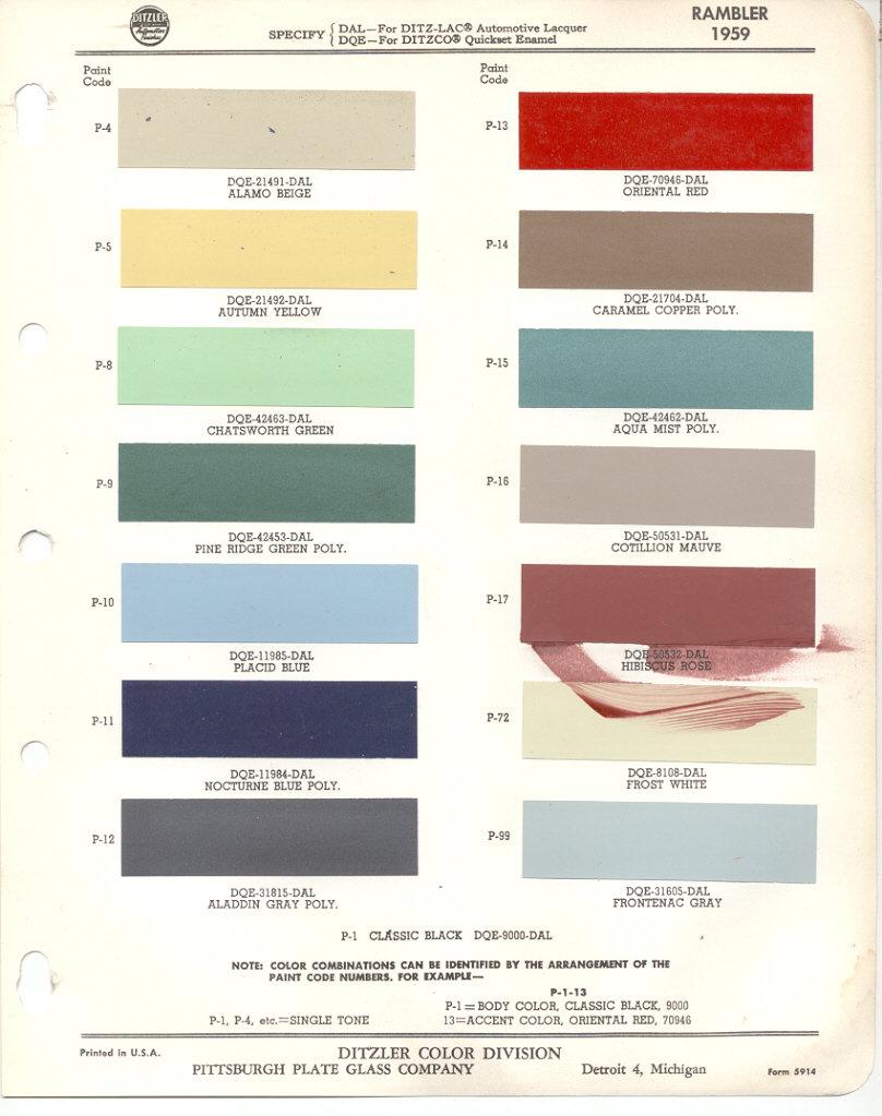 Page 1: 1959 AMC Rambler