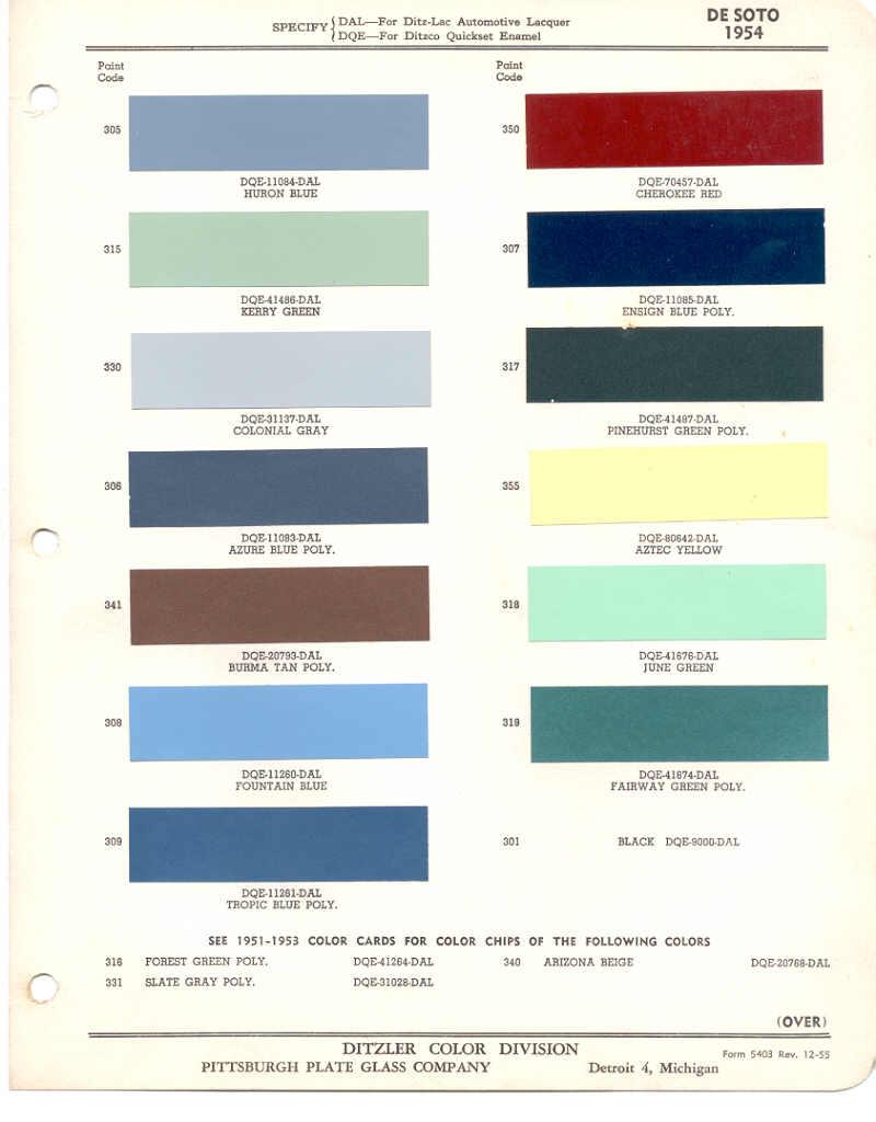 Page 16: 1954 Chrysler DeSoto