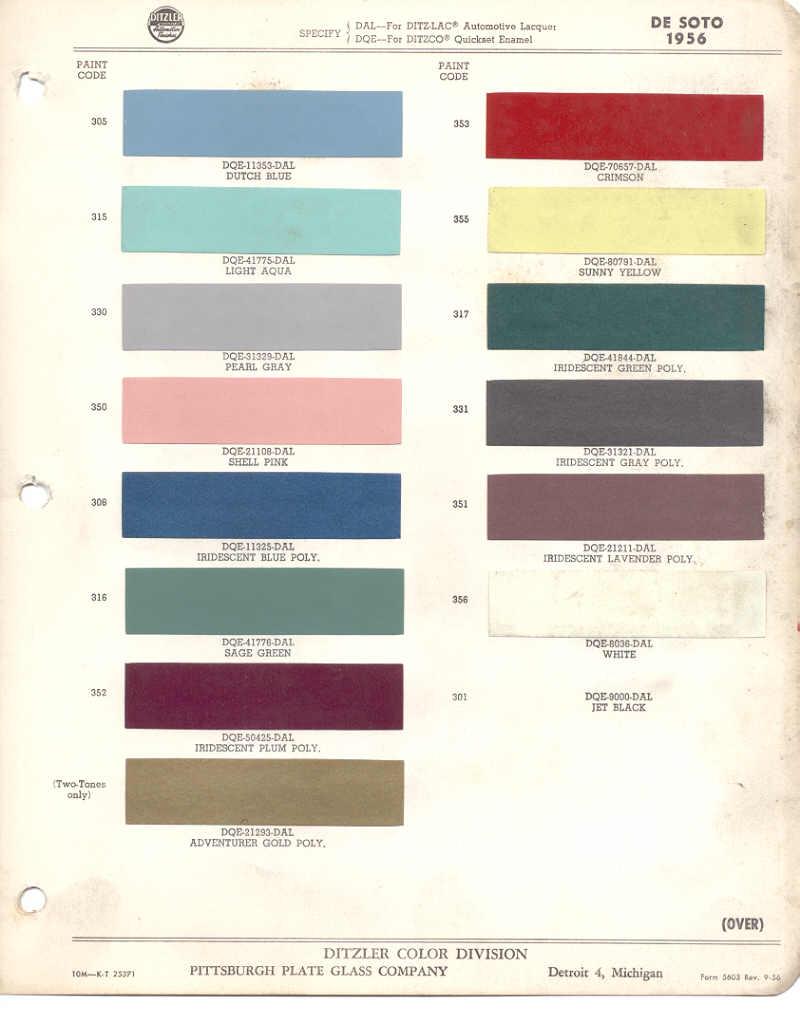 Page 4: 1956 Chrysler DeSoto