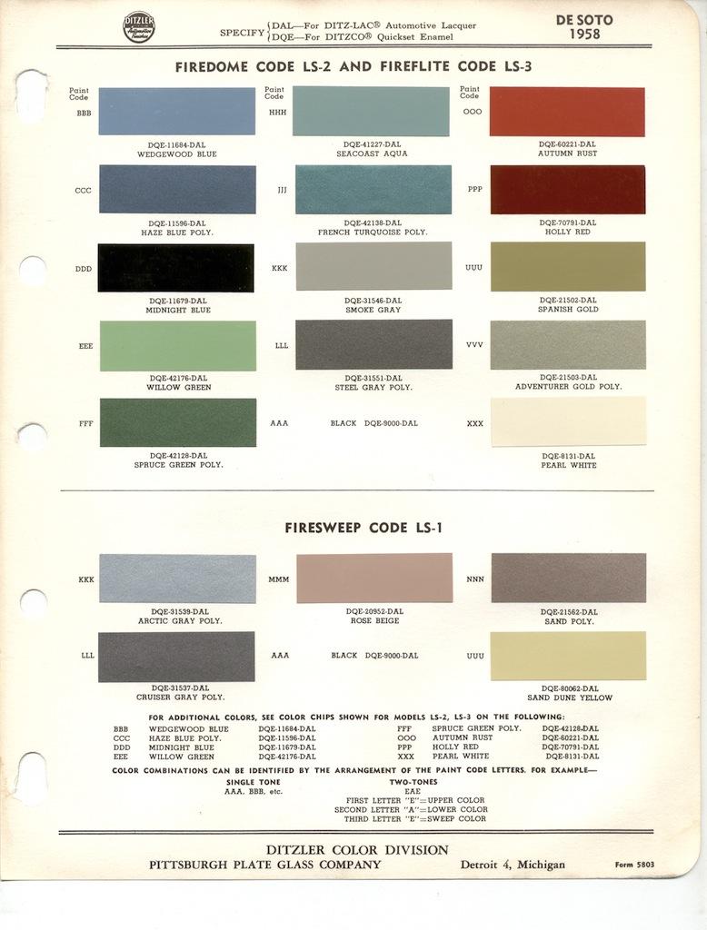 Page 2: 1958 Chrysler DeSoto