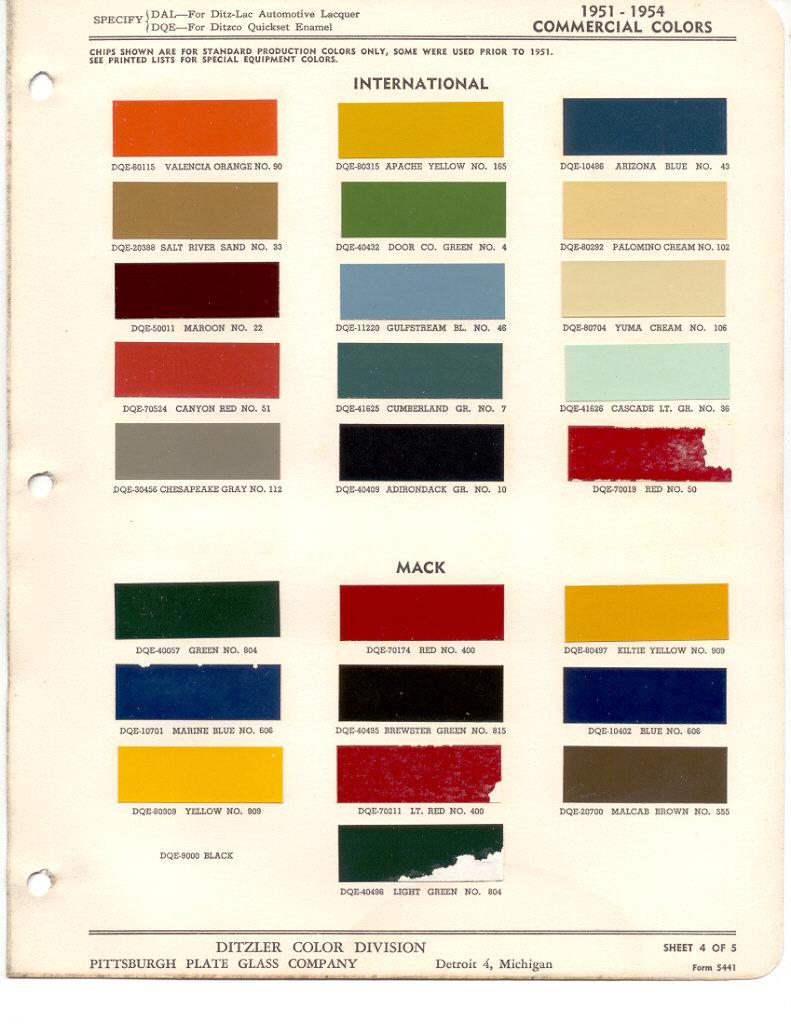 International Truck Paint Code Location - Paint Color Ideas