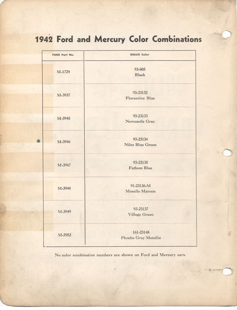 Page 2: 1942 Ford exterior