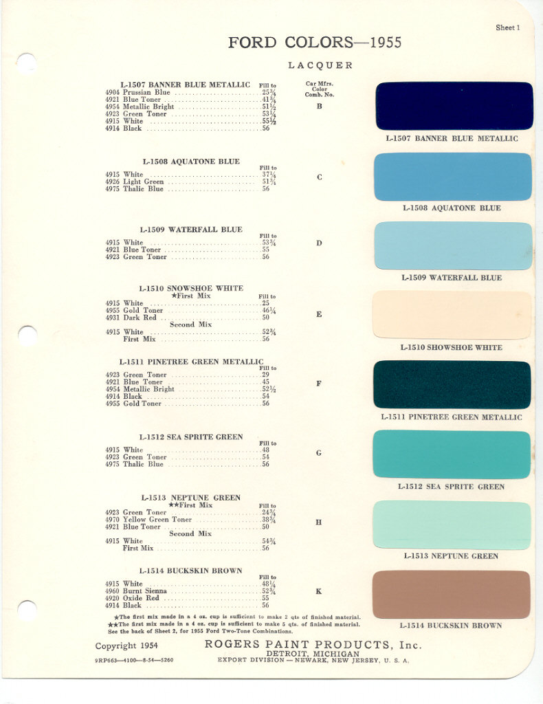 Ford X Plan Pricing >> 1996 Ford thunderbird paint codes
