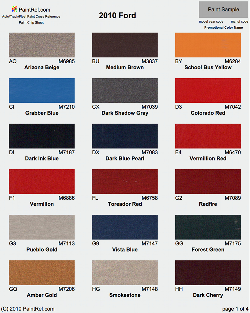 Ford Red Paint Colors Paint Color Ideas