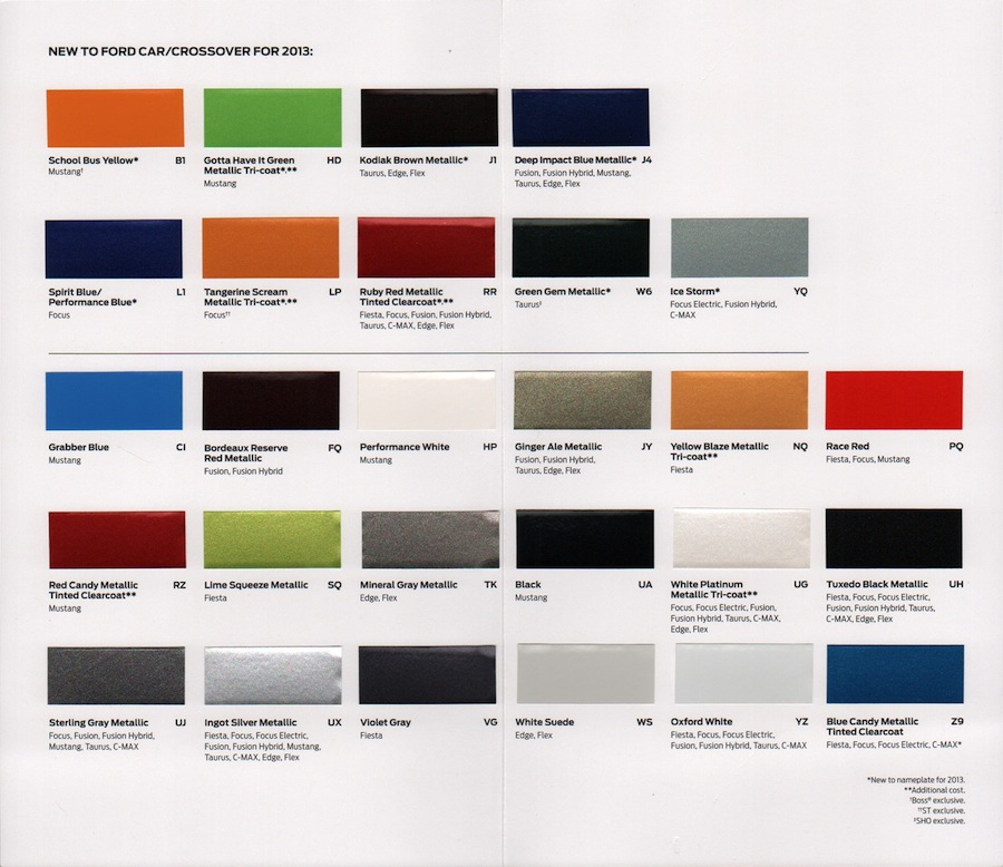 1965 Exterior Paint Color Charts Picture Pictures to pin on Pinterest