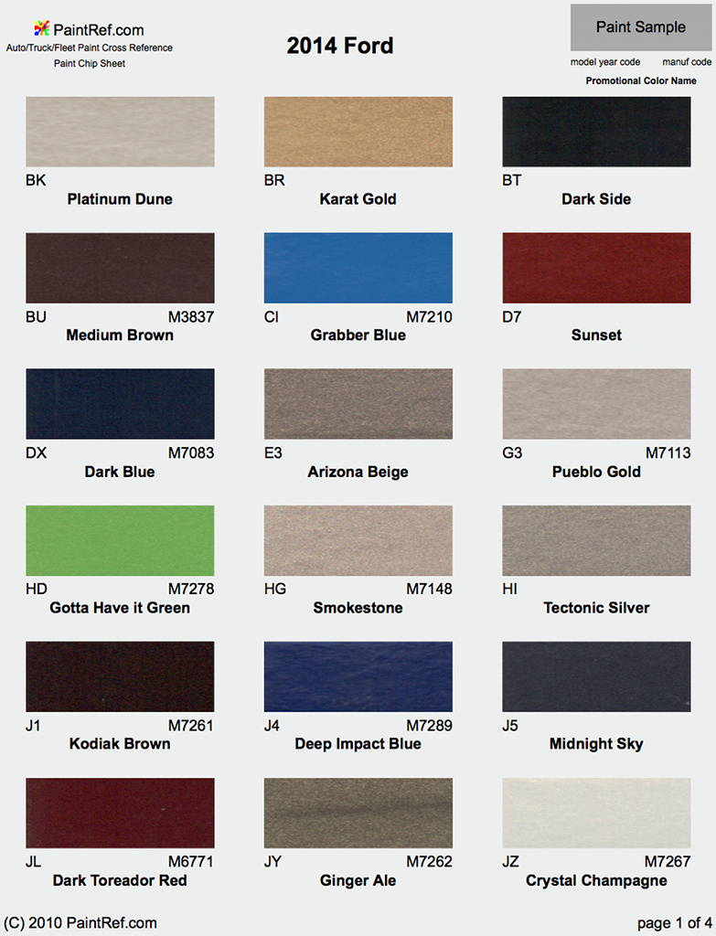 Exterior colors for 2014 f350 autos post