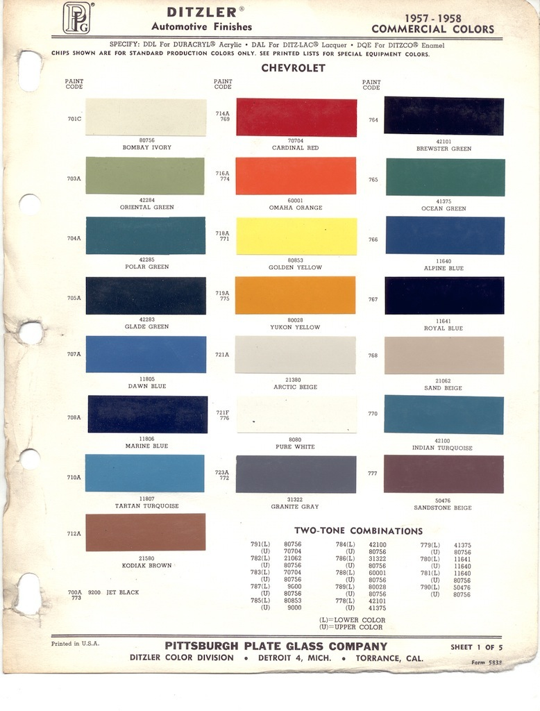 2013 color codes chevrolet paint cross reference html